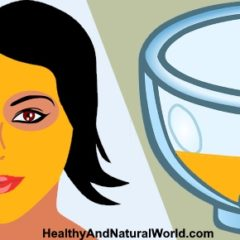 Turmeric Face Mask Dish for Glowing Skin, Acne, Rosacea, Eczema and Dark Circles